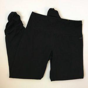 Alo Yoga Black Organic Cotton Cinched Leggings L